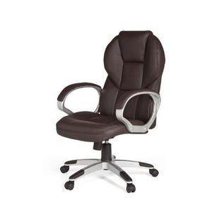 CHAISE DE BUREAU Amstyle - Matera - Chaise de bureau - Cuir marr…