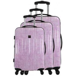 SET DE VALISES FRANCE BAG - Set de 3 valises  Cadenas TSA ABS/POL