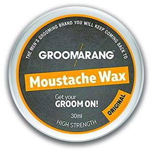 CIRE - GEL COIFFANT Groomarang Cire Moustache & Barbe Extra Forte Orig