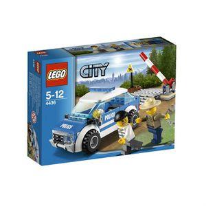 ASSEMBLAGE CONSTRUCTION LEGO City 4436 La Voiture De Patrouille