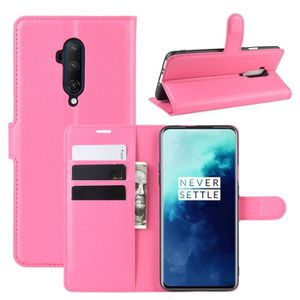 COQUE - BUMPER Coque OnePlus 7T Pro PU Cuir Protection Antichoc S