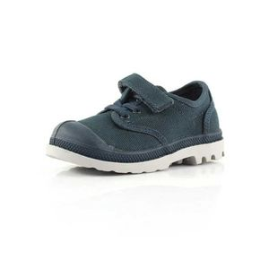 BASKET Palladium Pampa Oxford Kids bleu