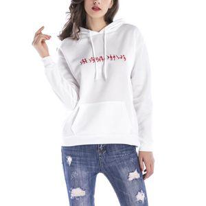 Nouveau fille femmes taille plus à fermeture éclair Sweat à capuche sweat à capuche manteau top 8-30
