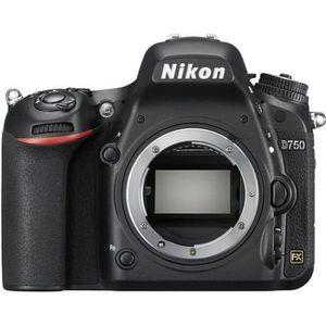 APPAREIL PHOTO RÉFLEX Nikon D750 Appareil photo numérique Reflex 24.3 MP