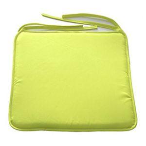 COUSSIN Jaune VifCoussin de chaise carré de 40 cm x