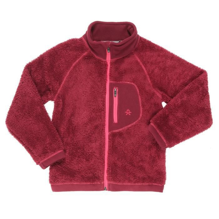 COLOR KIDS BURMA Veste polaire enfant - Rouge