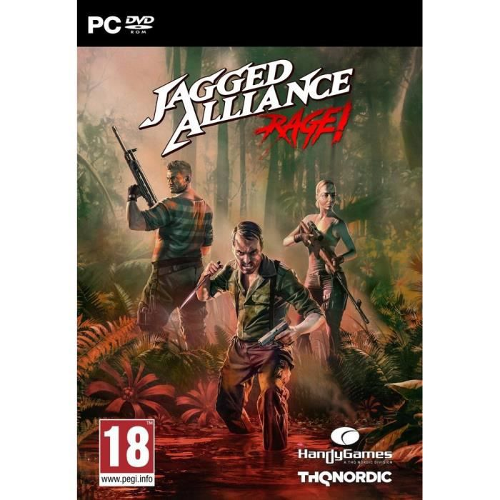 Jagged Alliance Rage Jeu PC