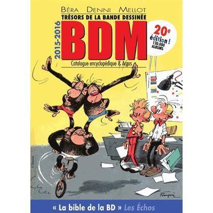 BANDE DESSINÉE Trésors de la bande dessinée BDM 2015-2016
