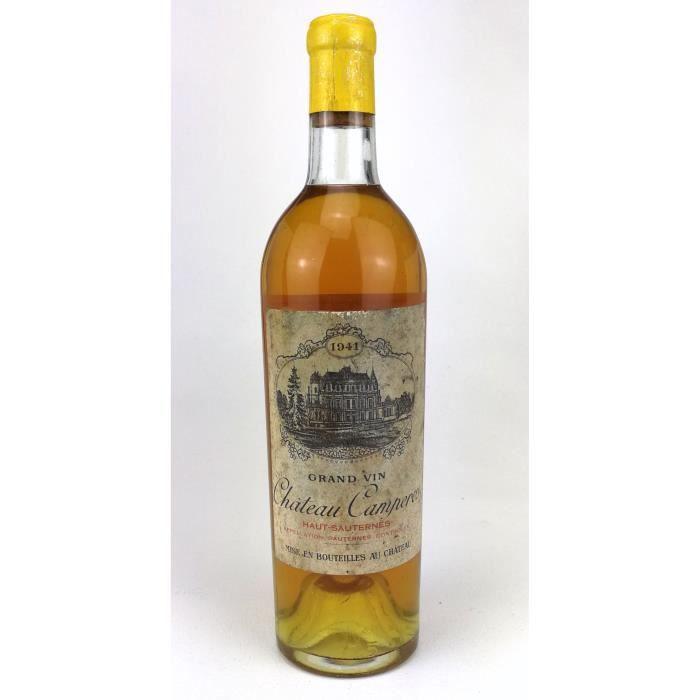 1941 - Chateau Camperos - Sauternes