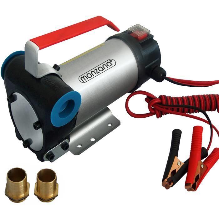 Monzana - Pompe à vidange huile moteur diesel • pompe à diesel • 12 V 160W - automobile voiture vidange entretien