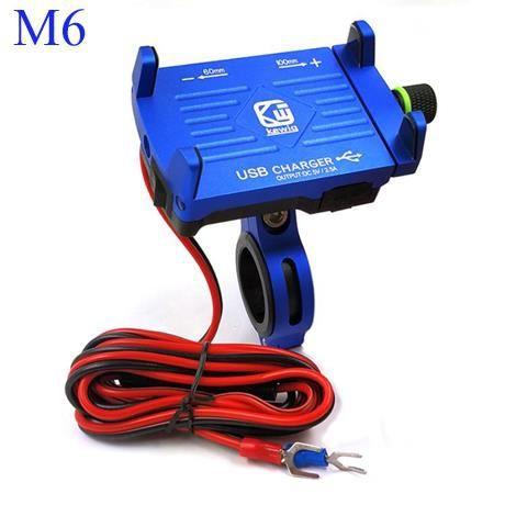 Support téléphone portable en aluminium, support pour moto BMW, support pour moto, étui pour téléphone, GPS, support d -EZPTESA02378