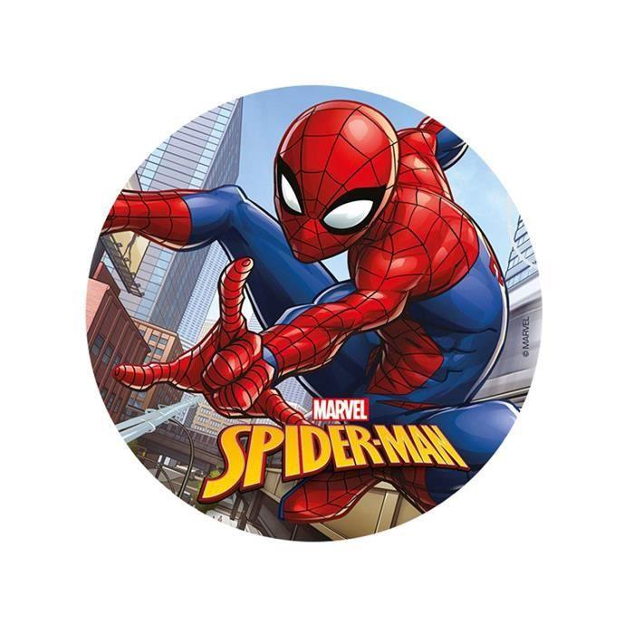 Generique - Disque Azyme Spiderman 20 cm