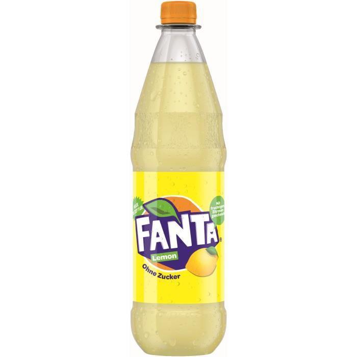 Fanta Citron sans sucre 6 x 1l