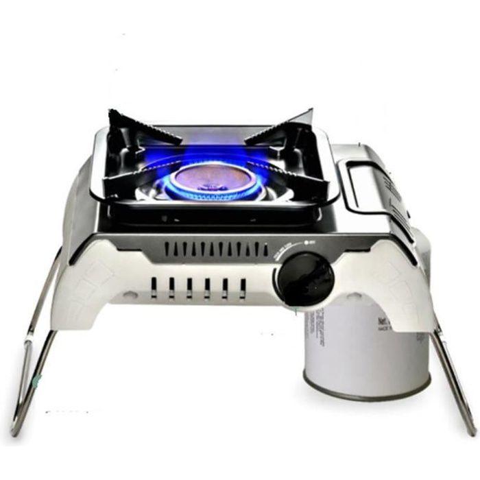 Table de cuisson Réchaud à Gaz 1 feu Piezo 2400W FIVESTAR Mallette de transport