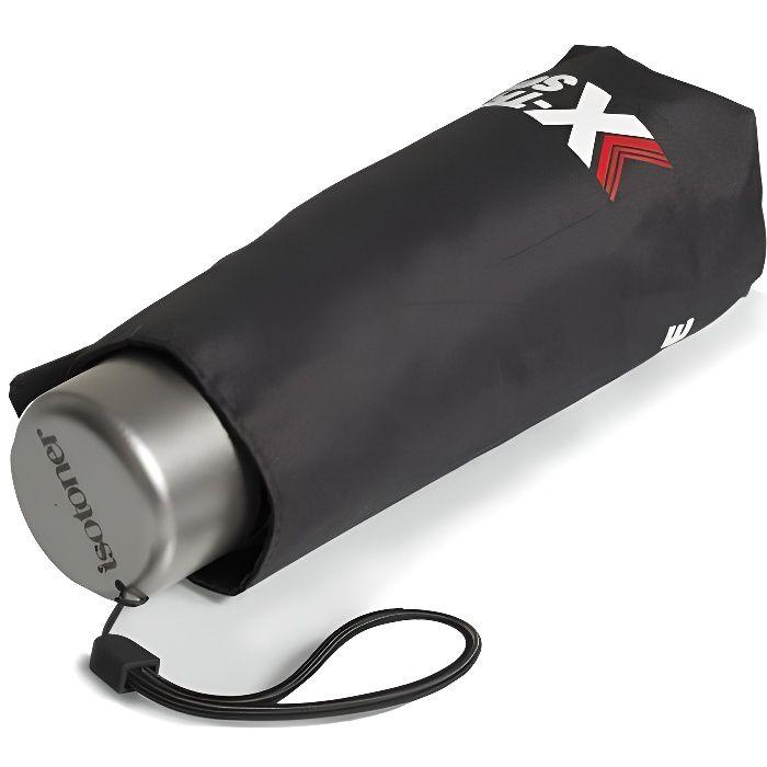 Isotoner Parapluie x-tra solide pliant noir femme