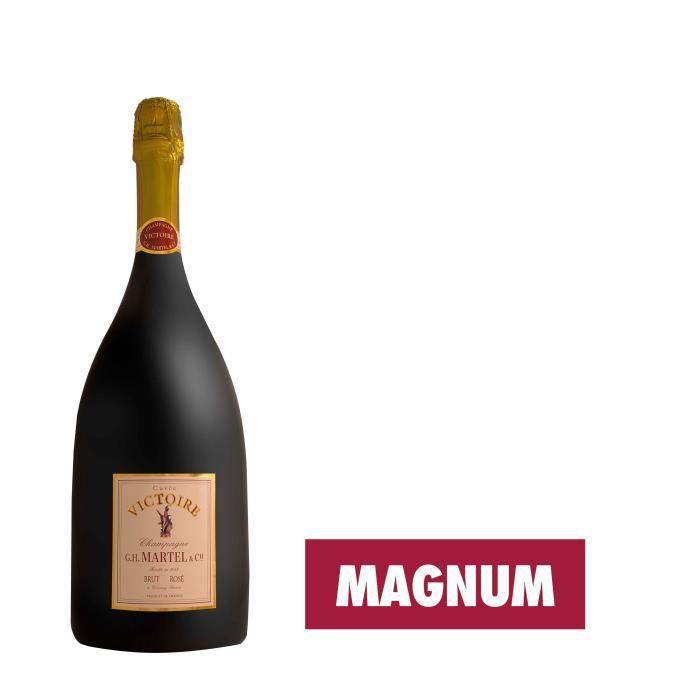 Champagne G.H. Martel Victoire Rosé - Magnum 1,5L