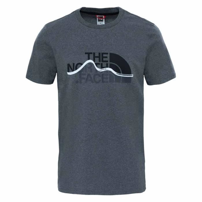 Vêtements homme T-shirts casual The North Face S/s Mountain Line Tee