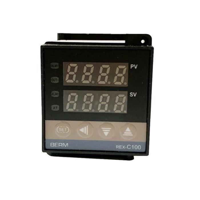 1 sortie de relais REX-C100 d'affichage numérique de contrôleur de température de Pc pour la nourriture PLAQUE DE CUISSON POSABLE
