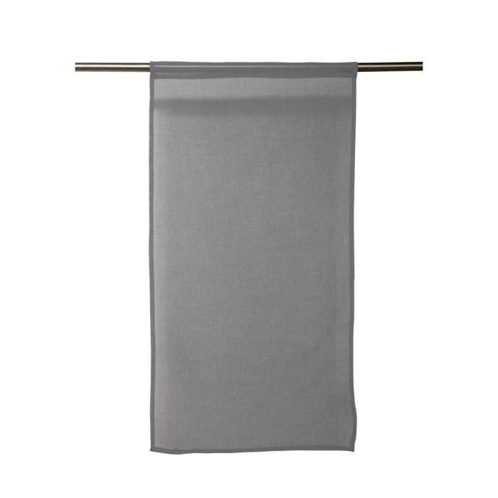 SOLEIL D'OCRE Paire de brises bise Panama 45x90 cm gris clair