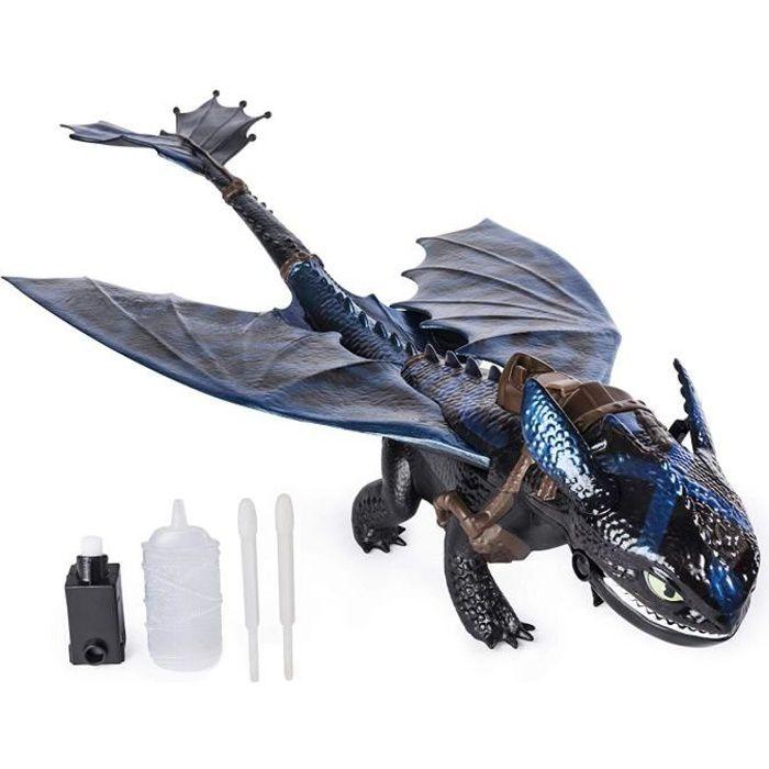 DRAGONS 3 - Figurine Krokmou Cracheur de Flammes