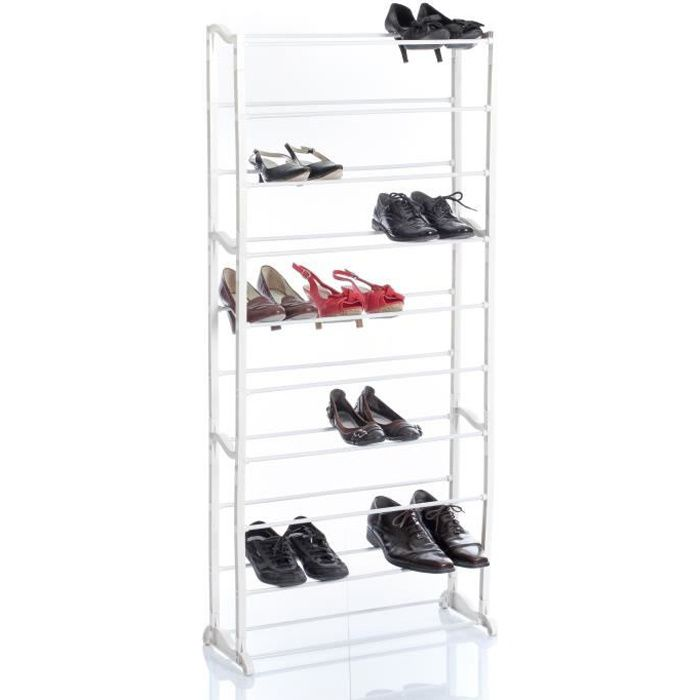rack chaussures 30 paires achat vente housse de rangement rack chaussures 30 paires. Black Bedroom Furniture Sets. Home Design Ideas