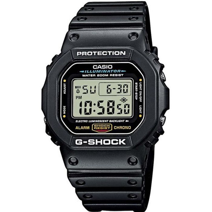 g shock solaire achat vente pas cher cdiscount. Black Bedroom Furniture Sets. Home Design Ideas