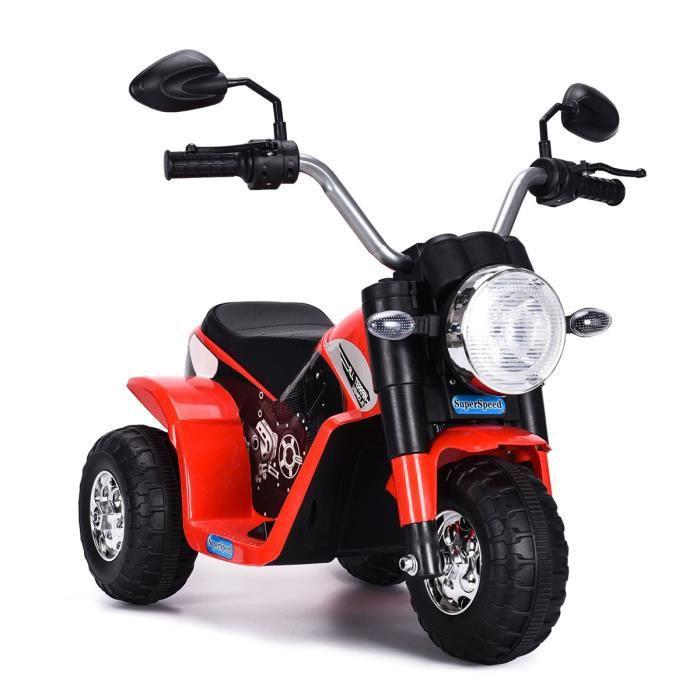 Costway Moto Electrique Pour Enfants 20w A Partir De 3 A 8 Ans Moto Vehicule Pou Enfant 6v Capacite De Charge 20kg Rouge Cdiscount Jeux Jouets