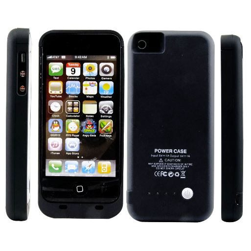 coque batterie pour iphone 5 achat vente coque. Black Bedroom Furniture Sets. Home Design Ideas