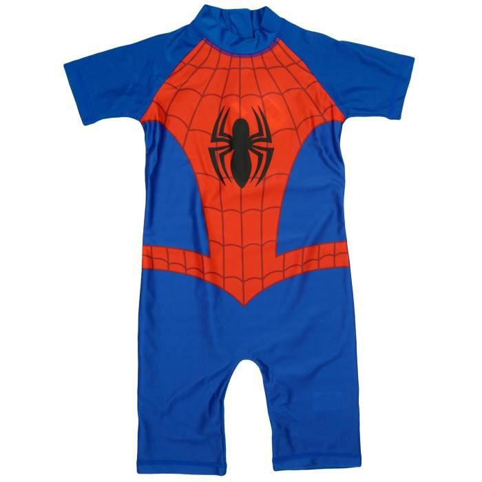 spiderman maillot de bain combinaison anti uv b b gar on bleu achat vente maillot de bain. Black Bedroom Furniture Sets. Home Design Ideas