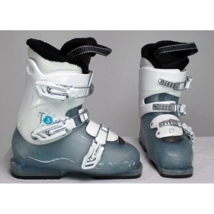 CHAUSSURES DE SKI Chaussure ski occasion Salomon Junior T2 - T3 bleu
