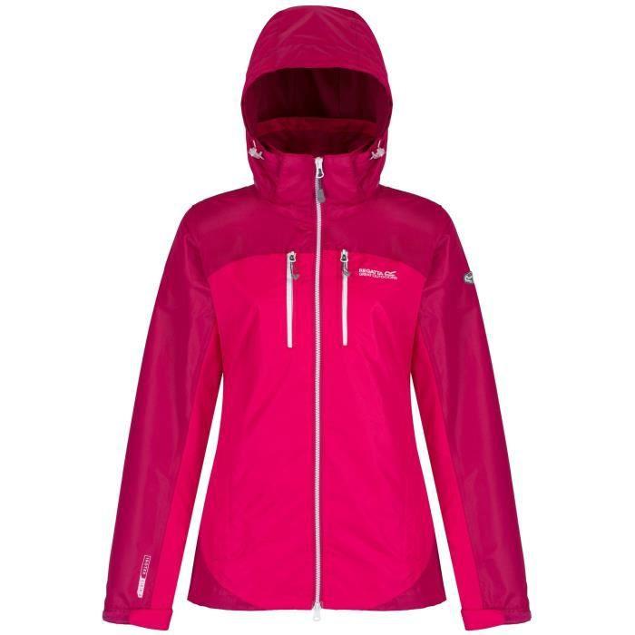 Regatta Calderdale II pour femme imperméable respirant veste rose taille 12