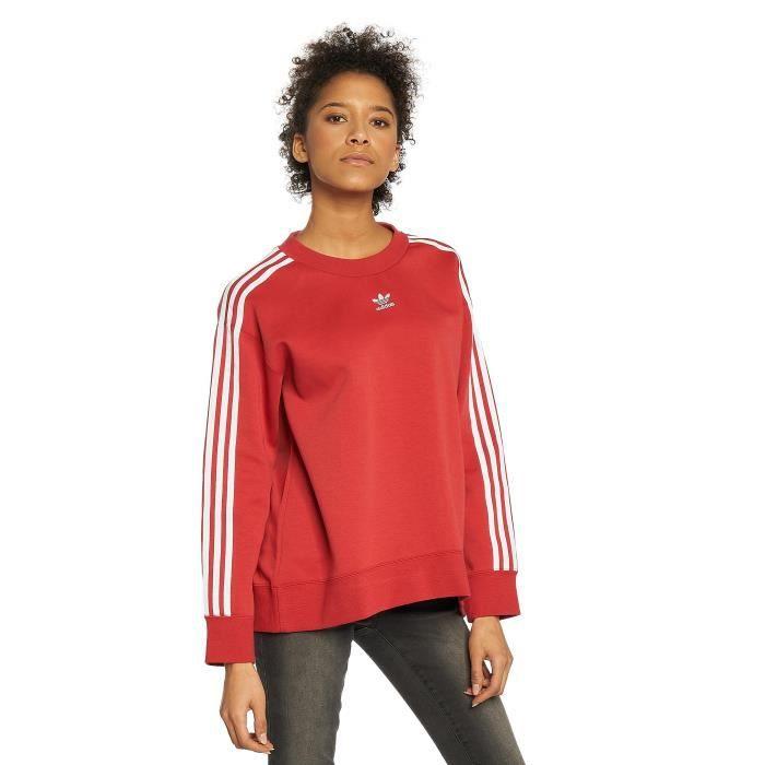 sweat adidas femme rouge
