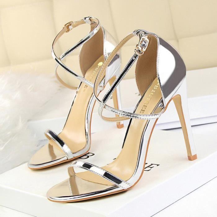 chaussure femme sandale talon