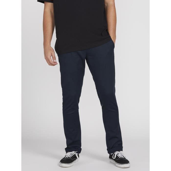 Pantalon Volcom Frickin Skinny Chino Dark Navy Homme Bleu Achat Vente Pantalon De Sport Soldes Sur Cdiscount Des Le 20 Janvier Cdiscount