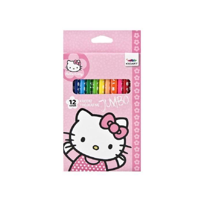 Boite De Crayons De Couleur En Bois Hello Kitty Neuf Achat Vente Crayon De Couleur Boite De Crayons De Couleur Cdiscount