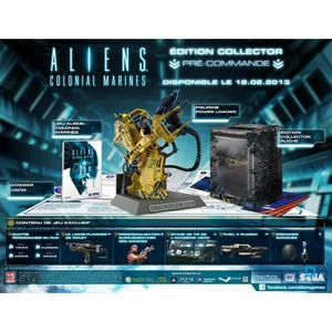 JEU PS3 ALIENS COLONIAL MARINES COLLECTORS / Jeu PS3