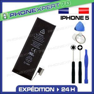 Batterie téléphone Batterie originale interne iPhone 5 + outils