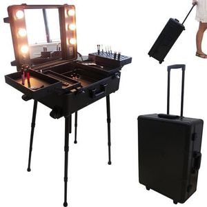 TROUSSE DE MAQUILLAGE Valise studio make up trolley, Table de maquill...