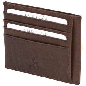 PORTEFEUILLE Portefeuille/Porte-cartes de luxe à deux volets -
