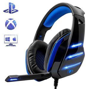 CASQUE AVEC MICROPHONE GZ* Beexcellent GM-3 Casque Gamer pour PS4 Xbox On