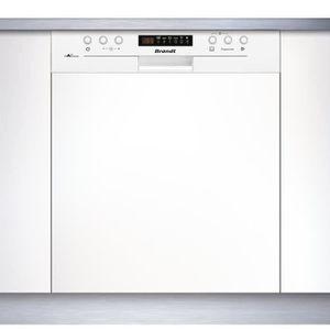 LAVE-VAISSELLE BRANDT VH15W  - Lave vaisselle encastrable - 13 co