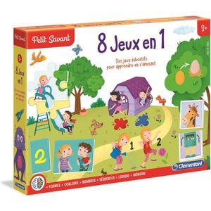 JEU D'APPRENTISSAGE CLEMENTONI Petit Savant - 8 jeux en 1 - 3 ans et +