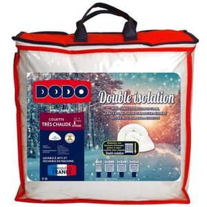 COUETTE DODO Couette très chaude Double Isolation - 220 x