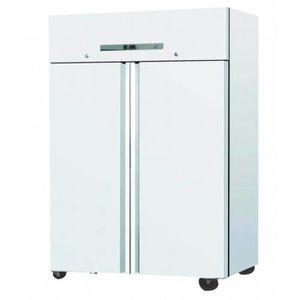 ARMOIRE RÉFRIGÉRÉE Réfrigérateur PRO 1200L - 2 portes GN2/1 - Blanc