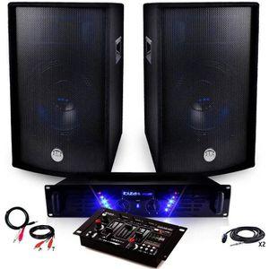 PACK SONO Pack Sono Ampli AMP-300 + HP BMS-12 de 2x600W Tabl