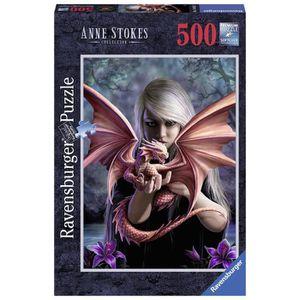 PUZZLE Puzzle 500 pcs La Fille Au Dragon Anne Stokes