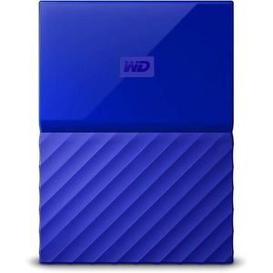 DISQUE DUR EXTERNE WD My Passport 2To Bleu + 1 Housse Rigide Offerte