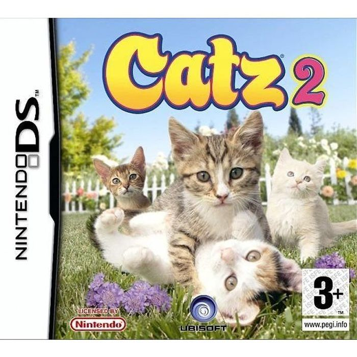 catz 2 jeu console nintendo ds achat vente jeu ds dsi catz 2 ds cdiscount. Black Bedroom Furniture Sets. Home Design Ideas