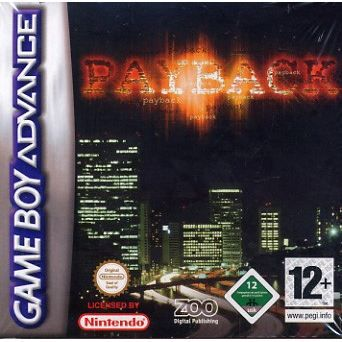 JEU GAME BOY ADVANCE PAYBACK / GBA