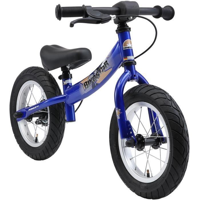 BIKESTAR - Draisienne - 12 pouces - pour enfants de 3-4 ans - Edition Sport - garçons et filles - Bleu